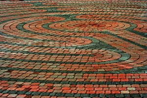 Picture of a labyrinth